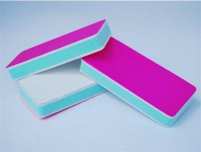 Баф для полірування нігтів, рожевий