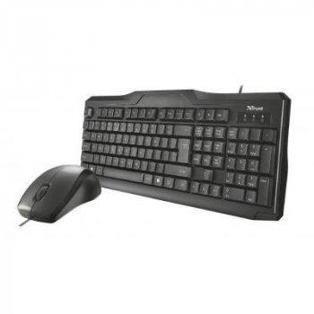 Комплект Trust Classicline Wired Keyboard and Mouse RU (21909)
