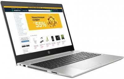 Ноутбук HP ProBook 455 G7 (3S068AV_V1) Pike Silver