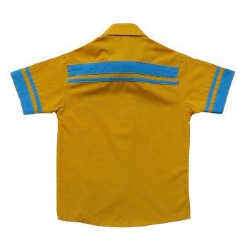 Рубашка Hobbit Life для мальчика Желтая 8779
