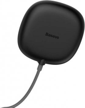 Бездротовий зарядний пристрій Baseus Suction Cup Wireless Charger Black (WXXP-01)