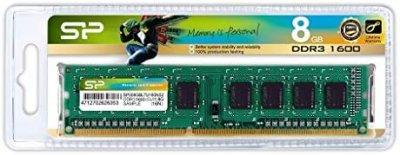 Оперативна пам'ять SiliconPower DDR3 8GB 1600 MHz CL11 DIMM (SP008GBLTU160N02)