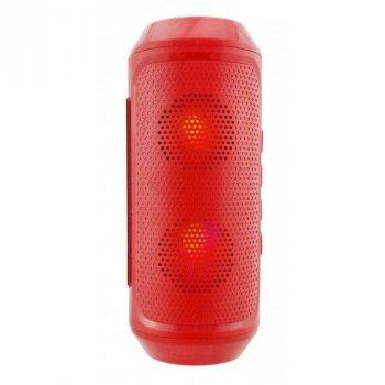 Портативна колонка bluetooth MP3 FM Спартак Q610, червона 010310