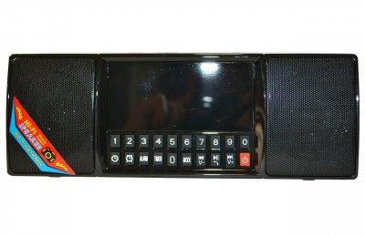 Портативная колонка блютуз MP3 часы WS-1515 bluetooth Black 005137