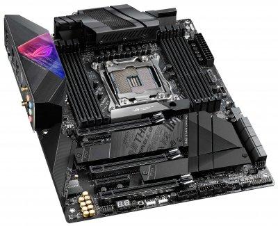 Материнская плата Asus Rog Strix X299-E Gaming II (s2066, Intel X299, PCI-Ex16)