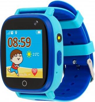 Смарт-годинник дитячий вологозахищений AmiGo GO001 iP67 Blue (458091)