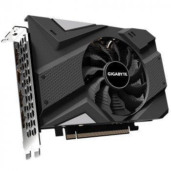 Відеокарта GIGABYTE GeForce RTX2060 6GB DDR6 192bit DPx3-HDMI MINI ITX (GV-N2060IX-6GD)