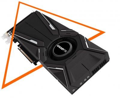 Відеокарта Gigabyte GeForce RTX2080 Ti TURBO 11G (GV-N208TTURBO-11GC)