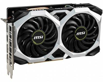 Відеокарта MSI GeForce GTX1660 6GB GDDR5 VENTUS OC (GTX_1660_VENTUS_XS_6G_OC)