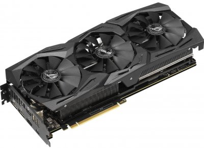 Відеокарта Asus GeForce RTX2070 SUPER 8GB GDDR6 GAMING STRIX OC (STRIX-RTX2070S-O8G-ГАМ)