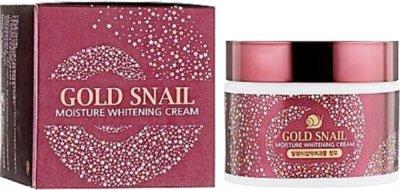 Крем для лица Enough Gold Snail Moisture Whitening Cream с муцином улитки 50 г (8809480655449)