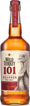 Бурбон Wild Turkey 101 до 8 лет выдержки 0.375 л 50.5% (721059893763)