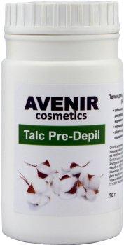 Тальк для депіляції та шугарингу Avenir Cosmetics Нейтральний 50 г (4820440814052)