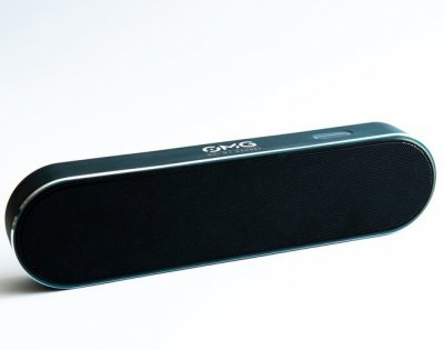 Компактна портативна музична колонка OMG Inspire 220 Portable Bluetooth Speaker Pacific (omg303) Чорний