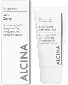 Дезодорант Alcina Deo-Creme кремовый 50 мл (4008666342607)
