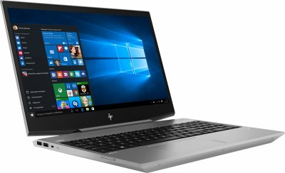Ноутбук HP ZBook 15v G5 (6TR88EA) Turbo Silver