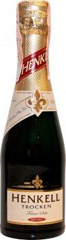 Упаковка ігристого вина Henkell Trocken біле сухе 0.2 л 11.5% 12 шт. (4003310011748)