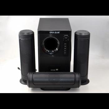 Акустична система 3.1 Era Ear E-60300L з Пультом Bluetooth,USB, FM-радіо 60 Вт, караоке, акустика , домашній кінотеатр , колонки ,музичний центр