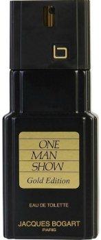 Туалетная вода для мужчин Jacques Bogart One Man Show Gold Edition 100 мл (3355991003408)