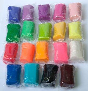 Набор теста для лепки ZiBi Baby Line Ассорти 50 шт 30 цветов (ZB.6252) (4823078932822)