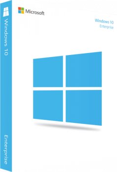 Операционная система Windows 10 Enterprise электронная Microsoft лицензия ESD
