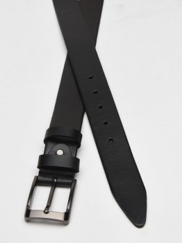 Мужской кожаный ремень Laras Cvgnn19 Черный (ROZ6400018323)