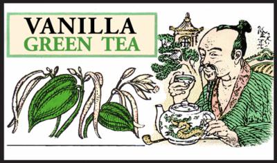 Чай зелёный рассыпной крупнолистовой Ваниль, Млесна (Mlesna) 100г. (01-008 vanilla)