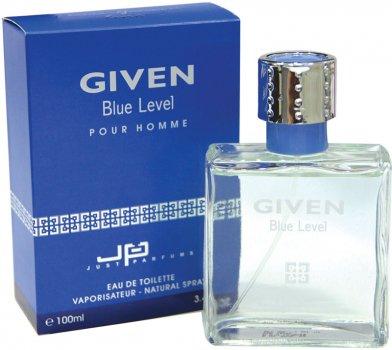 Туалетная вода для мужчин JP Paris-Geneva Given Blue Level Pour Homme 100 мл (8907202000048)