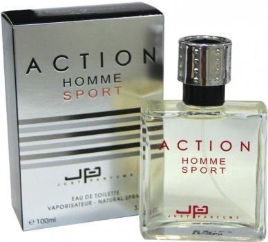 Туалетная вода для мужчин JP Paris-Geneva Action Homme Sport 100 мл (8907202000116)