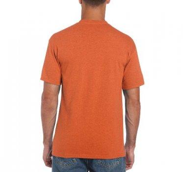 Футболка Gildan Heavy Cotton 5000-7599C Жовтогаряча