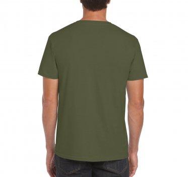 Футболка Gildan Softstyle 64000-5615C Зелена