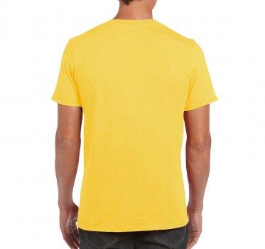 Футболка Gildan Softstyle 64000-122C Жовта