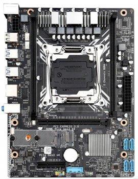 Материнська плата Jingsha X99-GT V1.0 (s2011-3, Intel X99, PCI-Ex16)