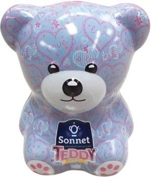 Чайный набор-копилка Sonnet Teddy Любовь 25 экспресс-пакетиков (4820082708436)