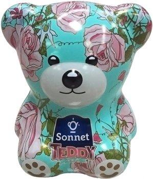 Чайный набор-копилка Sonnet Teddy Розочки 25 экспресс-пакетиков (4820082708429)