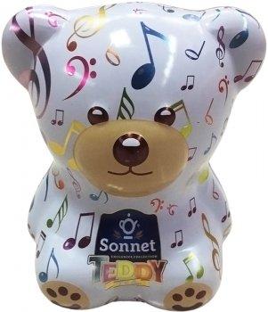 Чайный набор-копилка Sonnet Teddy Музыкальный 25 экспресс-пакетиков (4820082708382)