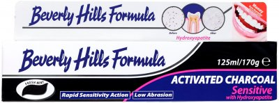 Зубная паста Beverly Hills Formula Activated Charcoal 125 мл (5020105003510)