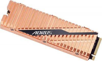 Gigabyte Aorus NVMe Gen4 SSD 500GB M. 2 2280 NVMe PCIe 4.0 x4 3D NAND TLC (GP-ASM2NE6500GTTD) (WY36dnd-245435)