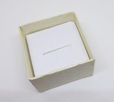 Коробочка для прикрас під кільце і сережки 10180 (8б)