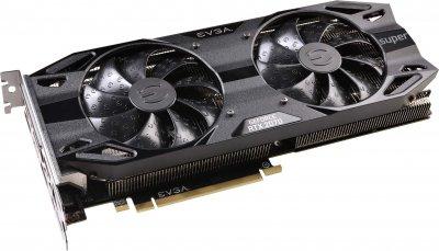 EVGA PCI-Ex GeForce RTX 2070 Super Black Gaming 8GB GDDR6 (256bit) (1770/14000) (HDMI, 2 x DisplayPort, USB Type-C) (08G-P4-3071-KR)