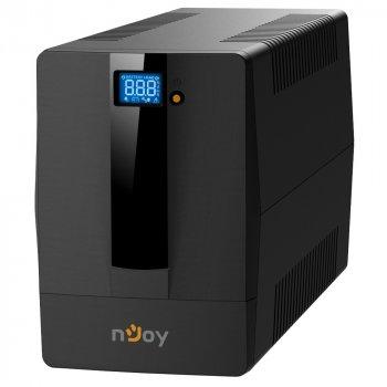 ДБЖ NJOY Horus Plus 1000 (PWUP-LI100H1-AZ01B), Lin.int., AVR, 4 x євро, USB, LCD, пластик