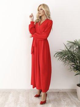 Плаття ISSA PUS 12229 Червоне
