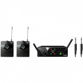 Мікрофонна радіосистема AKG WMS40 Mini2 Instrumental Set BD ISM2/3 EU/US/UK