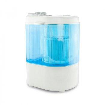 Портативная мини стиральная машина EasyMaxx (бело-голубая), 260W (1001967-WhiteBlue-0)