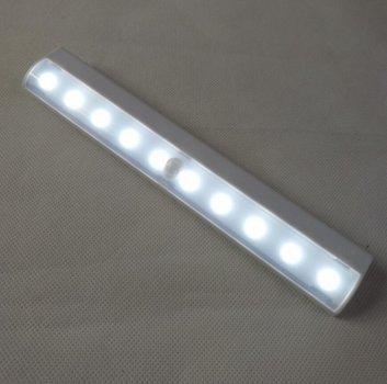 Світлодіодний LED світильник з датчиком руху Motion Brite - Білий, освітлення для меблів (1002847-White-0)