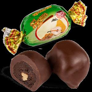 """Конфеты шоколадные Skava """"Груша с грецким орехом"""""""