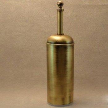 Щетка WC напольная, IBB British, бронза (BI12)