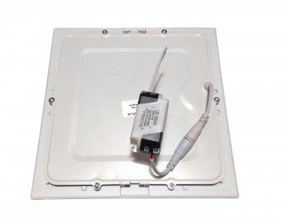 Панель LUMANO LED вбудована LUSQ-6C 4000K 6W квадрат (120*120*10) алюміній