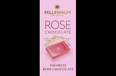 Шоколад белый Millennium Rose 100 г * 5 шт