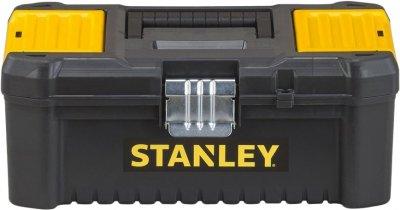 Ящик инструментальный Stanley Essential TB пластиковый с металлическим замком 32x18.8x13.2 см (STST1-75515)